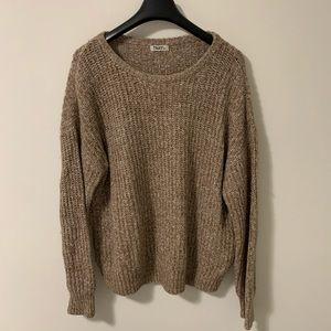 TNA Aritzia Wool Blend Knit Sweater
